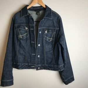 Lane Bryant Denim Jacket Size 16